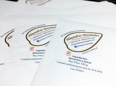 Familia Hernández - logo en papel